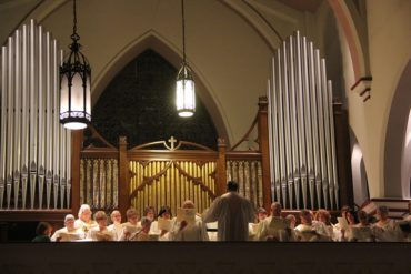 Organ and Choir at Saint Patrick Parish, Franklin