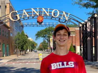 John Brady at Gannon University