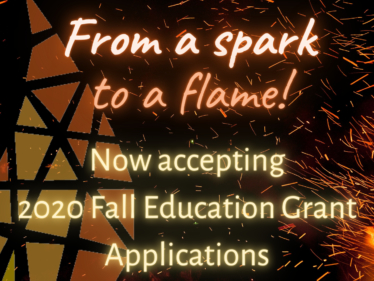 2020 Fall Education Grant Cycle Opens