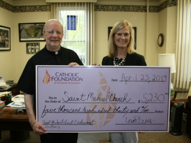 Parishes Benefit from Endowment Distributions