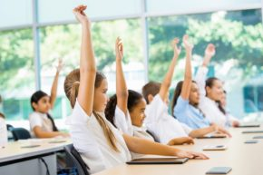 Students benefit from a Catholic education