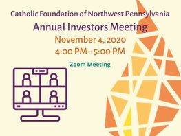The Catholic Foundation's Annual Investors Meeting